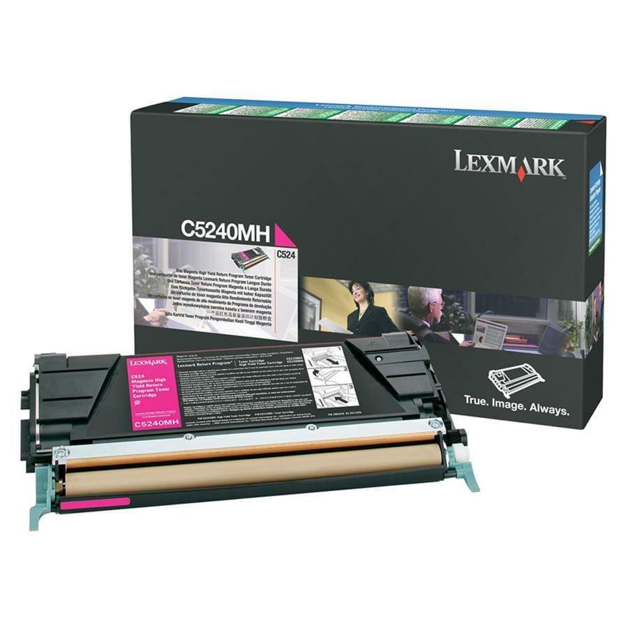 Lexmark Magenta High Yield Return Program Toner Cartridge