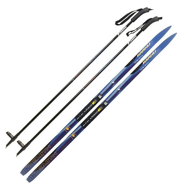 Karhu Touring Ski, Binding And Pole Package