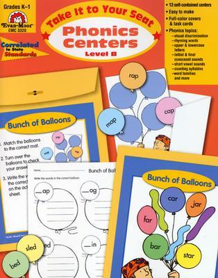Phonics Centers, K-1 (Paperback)