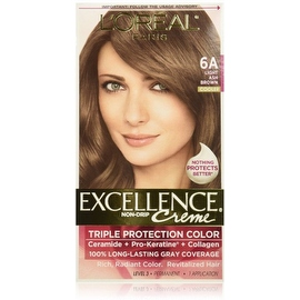 L'Oreal Paris Excellence Creme Haircolor Light Ash Brown [6A] (Cooler)