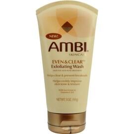 Ambi Clear & Even Exfoliating Wash 5 oz