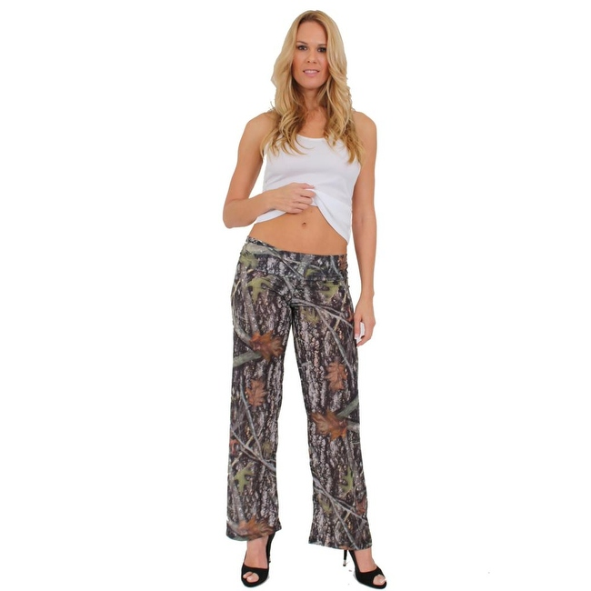Women's Juniors Authentic True Timber Pants Camouflage Hunt Camo GREEN