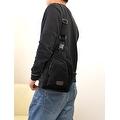 Vintage Canvas Satchel School Military Men's Hiking Shoulder Bag Messenger Bag - Thumbnail 2