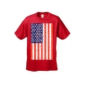 Men's T-Shirt USA Flag American Pride Stars & Stripes Old Glory Tee Distressed - Thumbnail 6