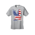 Men's T-Shirt USA Flag American Bald Eagle Stars & Stripes Old Glory Pride Patriotic - Thumbnail 3