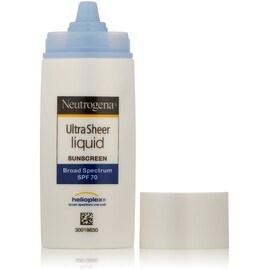 Neutrogena Ultra Sheer Liquid Daily Sunblock, SPF 70 1.4 oz