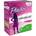 Playtex Gentle Glide Super Absorbency Tampons, Fresh Scent 18 ea - Thumbnail 0
