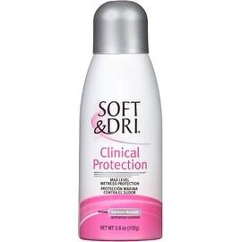 Soft & Dri Clinical Protection Antiperspirant Deodorant Aerosol, Everfresh Blossom 3.60 oz