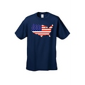 Men's USA Flag T Shirt Patriotic Country Pride Stars & Stripes Proud American - Thumbnail 7