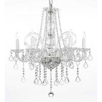 Crystal Chandelier Lighting H25 x W24