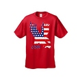 Men's T-Shirt USA Flag American Bald Eagle Stars & Stripes Old Glory Pride Patriotic - Thumbnail 5