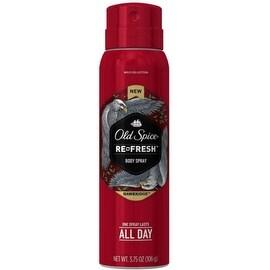 Old Spice Refresh Body Spray, Hawkridge 3.75 oz