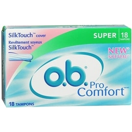 o.b. Pro Comfort Tampons Super 18 Each