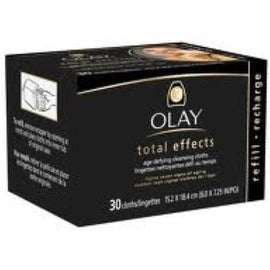 OLAY Total Effects 7-in-1 Anti-Aging Cleansing Cloths Refill 30 Each