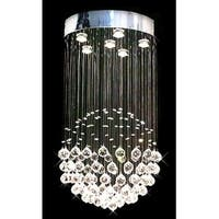 Modern Contemporary *Rain Drop* Chandelier Lighting With Crystal Balls