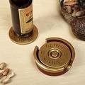 12 Gauge Shotgun Shell Coaster Set - Thumbnail 0