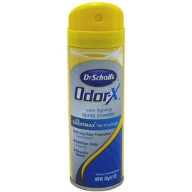 Dr. Scholl's Odor-X Odor Fighting Spray Powder 4.70 oz