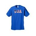 Men's T-Shirt USA Flag American Pride Stars & Stripes Old Glory Vet Tee Patriotic - Thumbnail 6