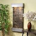 Adagio Whispering Creek Fountain w/ Green Natural Slate in Silver Metallic Finis - Thumbnail 8
