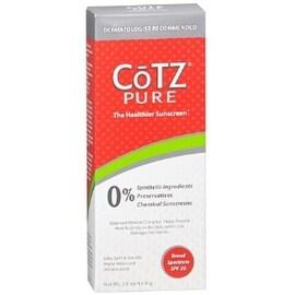 Cotz Pure Sunscreen, Broad Spectrum SPF 30 3 oz
