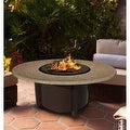 California Outdoor Concepts 5010-BR-PG2-SUN-48 Carmel Chat Height Fire Pit-Br... - Thumbnail 9