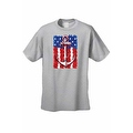 Men's USA Flag T-Shirt Anchor Navy Stars & Stripes Sailor American Pride Tee - Thumbnail 5