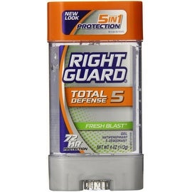 Right Guard Total Defense Anti-Perspirant Deodorant Power Gel Fresh Blast 4 oz