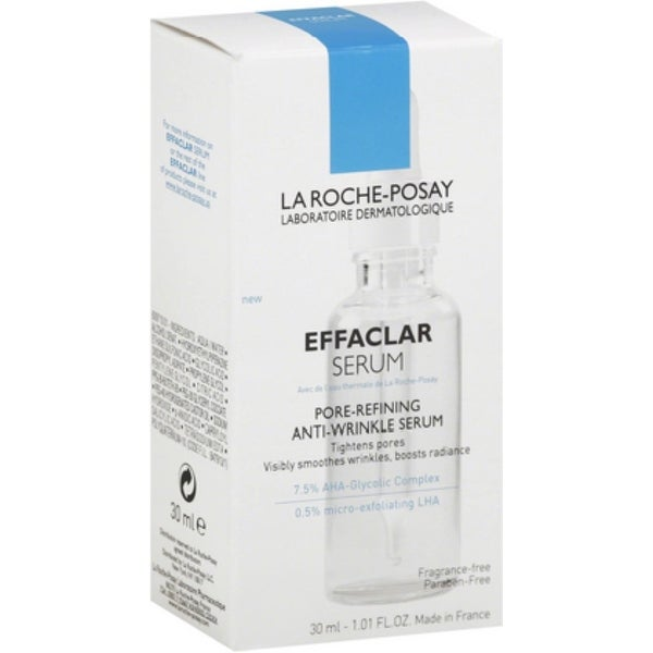 La Roche-Posay Effaclar Anti-Wrinkle Serum, Pore-Refining 1.01 oz
