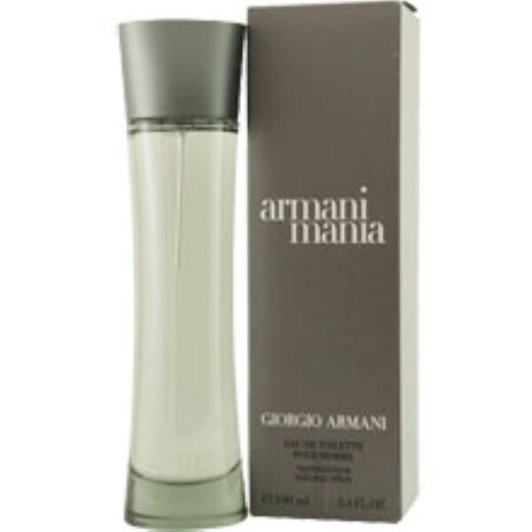 Armani Mania Men's 3.4-ounce Eau de Toilette Spray