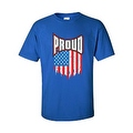 MEN'S T-SHIRT Proud American Distress Flag PATRIOTIC USA STARS & STRIPS TEE S-5X - Thumbnail 6