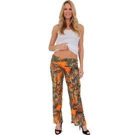 Women's Juniors Authentic True Timber Pants Camouflage Hunt Camo ORANGE