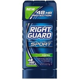 Right Guard Sport 3D Odor Defense Anti-Perspirant Deodorant Invisible Solid, Fresh 2.80 oz