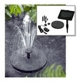 Smart Solar Fountain Pump Kit 150 - Black - Thumbnail 3