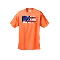 Men's USA Flag T Shirt 3D Patriotic Pride Stars & Stripes American Old Glory Tee - Thumbnail 4