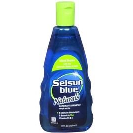 Selsun Blue Naturals Dandruff Shampoo Island Breeze 11 oz