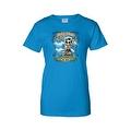 Women's Juniors T-Shirt Amor Inmortal Para Siempre Sugar Skull Katrina Death - Thumbnail 5