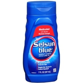 Selsun Blue Dandruff Shampoo Medicated 7 oz