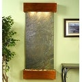 Adagio Inspiration Falls With Green Featherstone in Rustic Copper Finish and Squ - Thumbnail 8