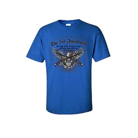 MEN'S T-SHIRT 'THE 2ND AMENDMENT' PATRIOTIC RIGHT TO BEAR ARMS S-XL 2X 3X 4X 5X