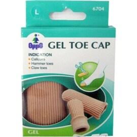 Oppo Gel Toe & Finger Cap, Large [6704] 2 Pack