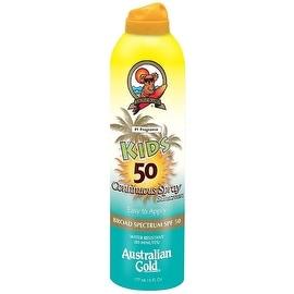 Australian Gold 6-ounce Kids Continuous Spray Sunscreen SPF 50