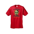 Men's T-Shirt If I Come Back As A Zombie I'm Eating You Frist Undead Graphic Tee - Thumbnail 0