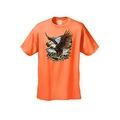 Men's T-Shirt Bald Eagle In Nature Mountains Wildlife American Pride Symbol Tee - Thumbnail 8