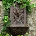 Sunnydaze Decorative Lion Outdoor Wall Fountain - Thumbnail 12
