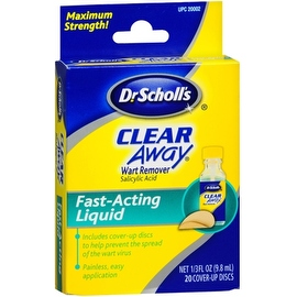 Dr. Scholl's 0.33-ounce Clear Away Wart Remover Fast Acting Liquid