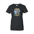 Women's Juniors T-Shirt Amor Inmortal Para Siempre Sugar Skull Katrina Death - Thumbnail 0