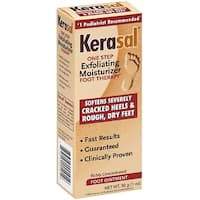 Kerasal One Step Exfoliating Moisturizer 1-ounce Foot Therapy Ointment