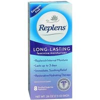 Replens Vaginal Moisturizer With Pre-Filled Applicators 8 Each