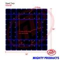 Xtarps - 16' x 16'  Flatbed Truck Tarp - Light Weight Steel Tarp - Thumbnail 0