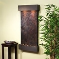 Adagio Whispering Creek Fountain w/ Rajah Natural Slate in Antique Bronze Finish - Thumbnail 10